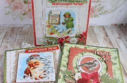 Pakiet 3 kartek na Boże Narodzenie GOTOWY
