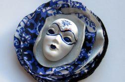 Broszka Masquerade - Księżycowa noc