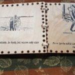 piekna drewniana ksiązka - kolejne strony