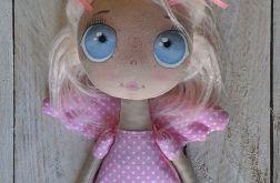 ANIOŁEK lalka tekstylna ( OOAK )