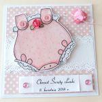 Słodki Drobiazg - Kartka Dla dziewczynki - kartka dla dziecka