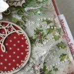 """Kartka świąteczna """"Magicznych Świąt"""" v.4 - sw222"""