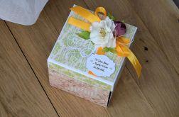 Pudełko na ślub wzór 4