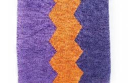 dywanik fioletowy ZygZag