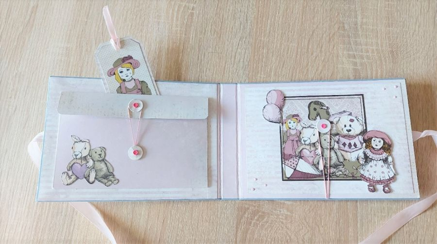 Mini album dla dziewczynki