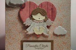 Kartka z okazji chrztu świętego GIRL