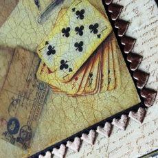 Pudełko dla Pana na karty, tytoń...