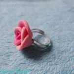 Pierścionek z różą 2