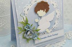 Pamiątka Chrztu -  z aniołkiem 1