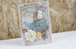 Kochanej Mamie - kartka vintage