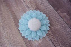 Nomma Spineczka do włosów niebieska Kwiatek