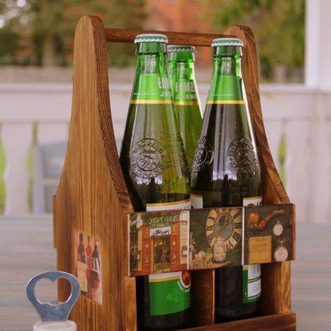 Nosidełko na piwo, prezent dla mężczyzny