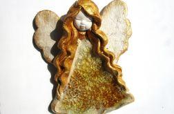 Anioł ceramiczny Basia 35 chrzest ślub