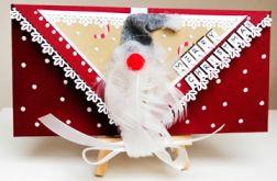 Kartka świąteczna, bożonarodzeniowa,MIKOŁAJ 3