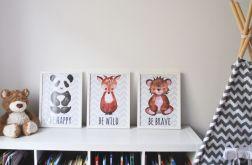 3 plakaty dla dzieci / TO BE A3