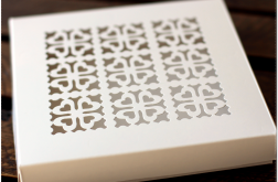 Ażurowe pudełko na kartkę 14,5 cm #3