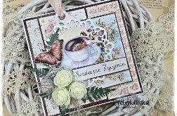 Romantyczna kartka z kawą vol. 90