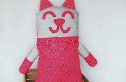Kot ~ maskotka ~ czerwone rozetki