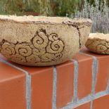 Miski ceramiczne - komplet