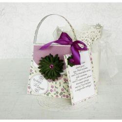 kartka - torebka dla Mamy