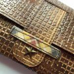 Kartka - portfel w pudełku -