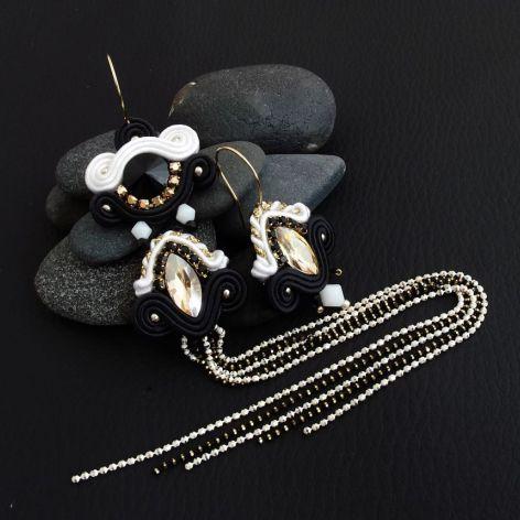 Noxy 3 - małe eleganckie kolczyki sutasz