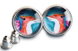 Fox kolczyki wkrętki