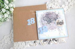Kartka na 18 urodziny w kopercie 92