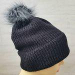 Gruba czapka zimowa unisex - czapka unisex