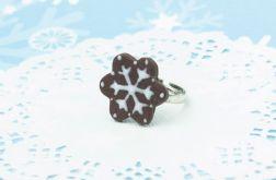 CIASTKO świąteczny pierścionek