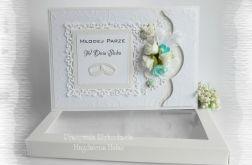 Pamiątka ślubna w bieli w pudełku #1