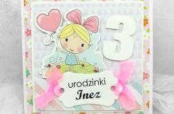Kartka urodzinowa dziewczynki UDP 013
