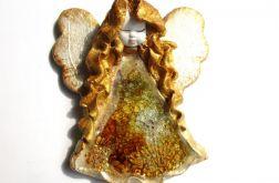 Anioł ceramiczny Basia 25 chrzest ślub