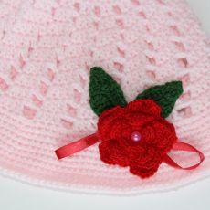 Różowy kapelusik