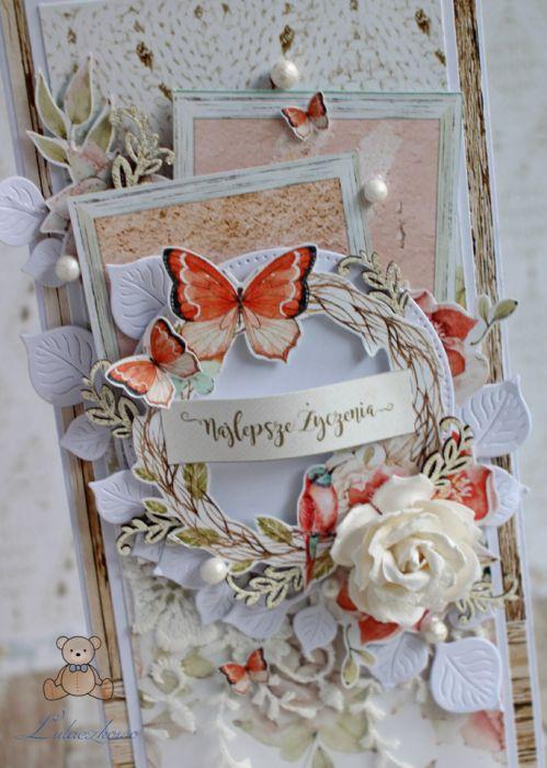 Kartka urodzinowa imieninowa Birdsong1 GOTOWA -