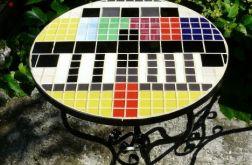 Stolik z mozaiką Obraz Kontrolny