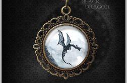 Medalion Black Dragon - romantyczny