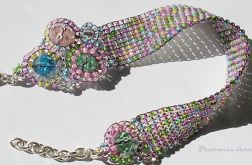 pastelowy mix z kryształkami