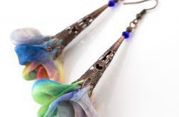 Kolczyki Silk wielokolorowe - oksydowane