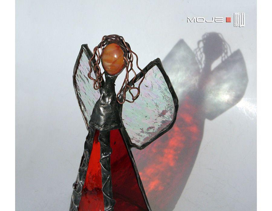 Anioł Amagestol - czerwony anioł