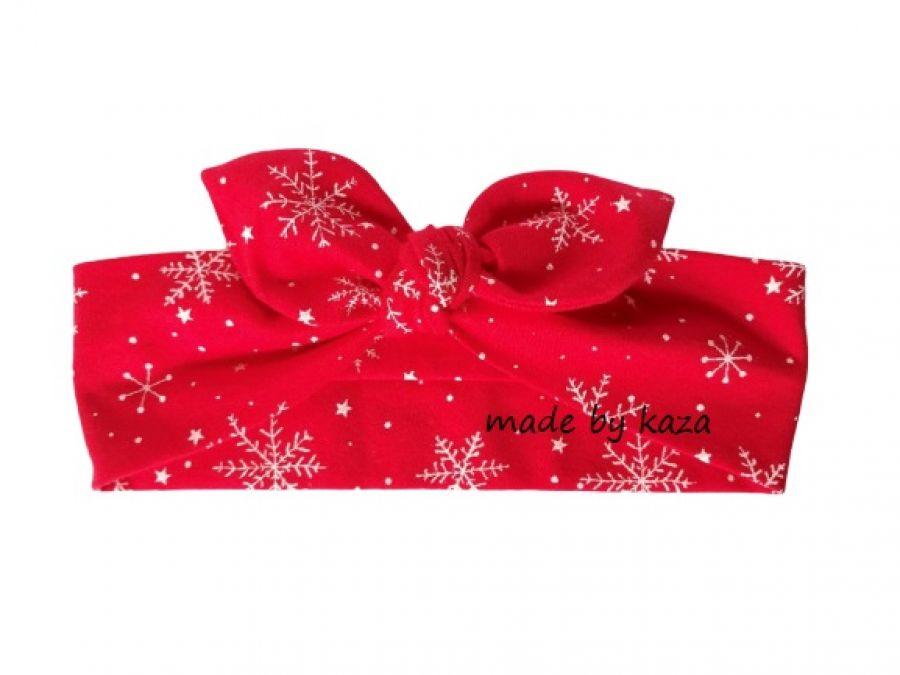 Opaska świąteczna dla dziewczynki