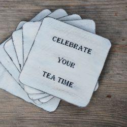 Podkładki tea time 6 sztuk