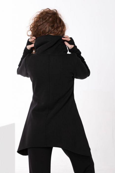 Bluza saymetryczna damska - Bawełniana bluza