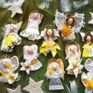 aniołki choinkowe