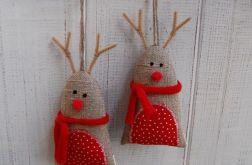 Rudolfy w szalikach