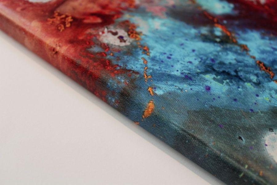 """Obraz """"kOSMOTANY"""", wydruk na płótnie 30x40 cm"""