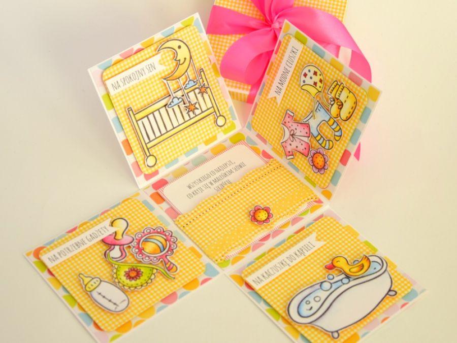 KOLOROWY BOX wersja dziewczęca - z okazji chrztu