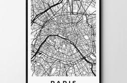 Plakat obraz Paryż 30X40