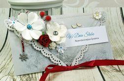 Kopertówka ślubna- zimowe wspomnienia