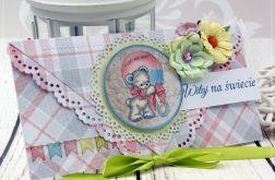 Kartka z okazji narodzin-baby  girl